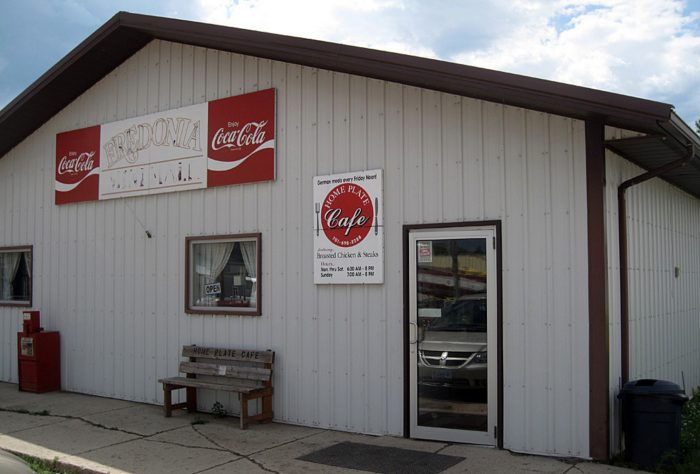 3. The Home Plate Cafe - Fredonia