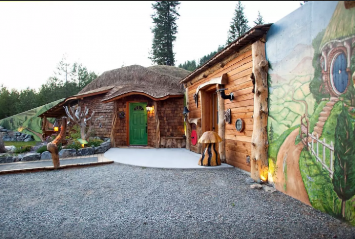 4. The Genuine Hobbit House in Trout Creek