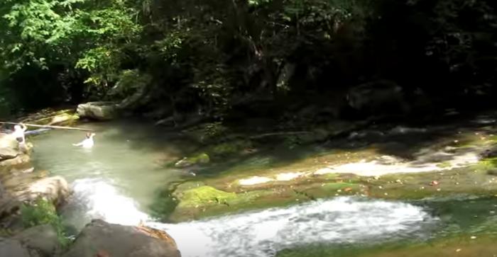 7. Roaring Run Falls (Eagle Rock)