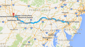 10 Amazing Places You Can Go On One Tank Of Gas In Pennsylvania