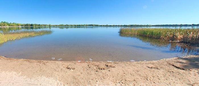 3. Lake Carlos State Park Beach