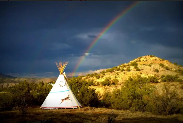 5. Another way to cut costs is to be open to some unique digs. I mean how many people can say they've stayed in a tepee?