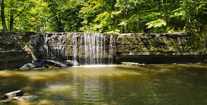 10. Hidden Falls