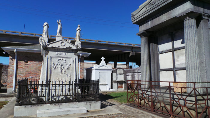 3) St. Louis Cemetery No. 2, 720 St. Louis Street