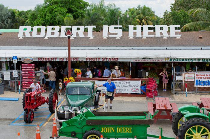 1. Robert Is Here, Homestead