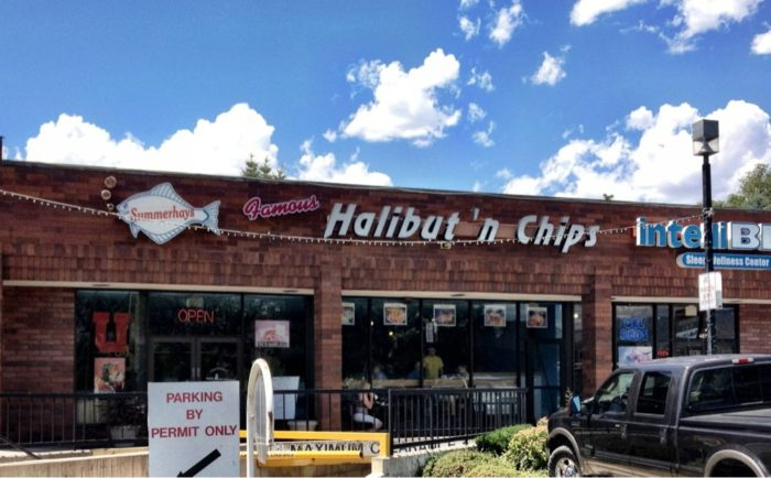 9. Summerhays Halibut and Chips