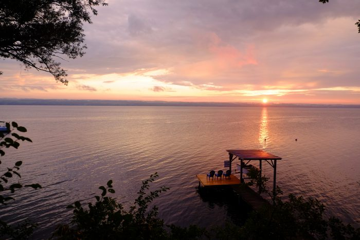 20. The Finger Lakes are nothing short of extraordinary. How stunning is this sunset on Seneca Lake?