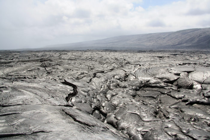 10. The first thing that comes to mind when you imagine Hawaii surely aren't the lava fields that populate Hawaii Island.