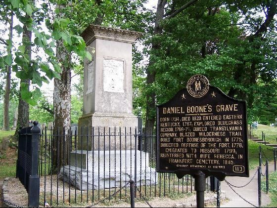 11. The story behind Daniel Boone's grave
