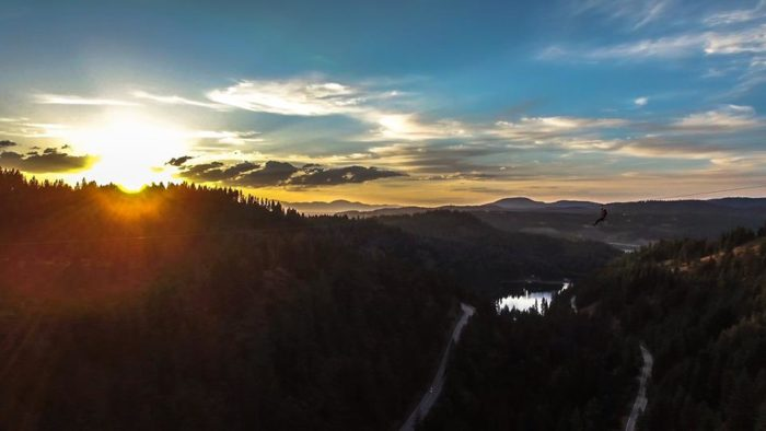 Finally, your day will end with an epic sunset over Coeur d'Alene Lake. Bask in it.