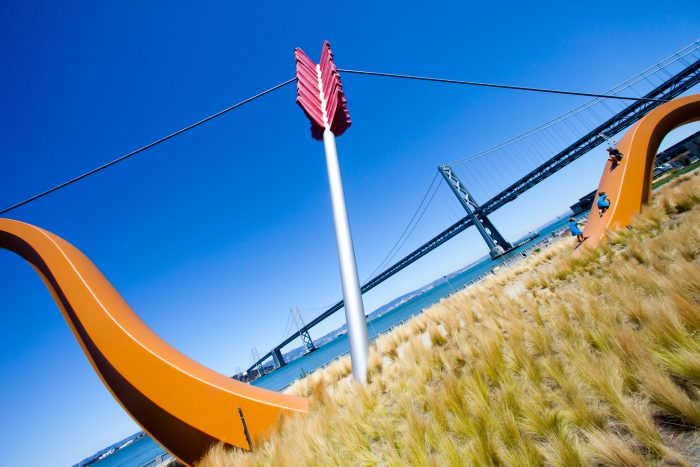 16. Snap a selfie at Cupid's Span on the Embarcadero.