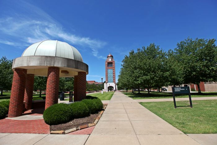UAFS_Bell_Tower_and_Greens