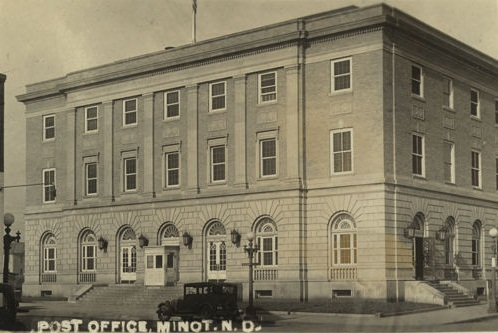3. Minot Post Office, now Court House