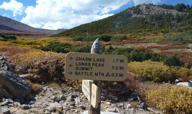 2. Chasm Lake Trail (Estes Park)