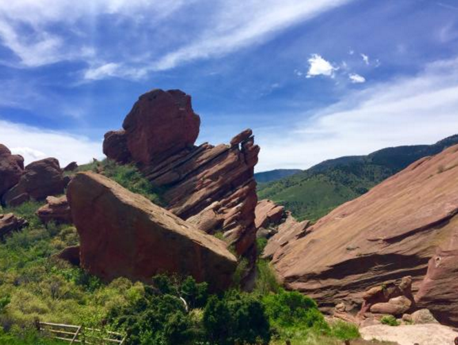 5. Red Rocks Trading Post Trail (Morrison)
