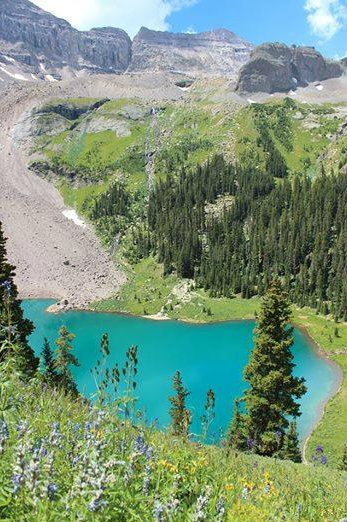7. Blue Lakes Trail (Ouray)