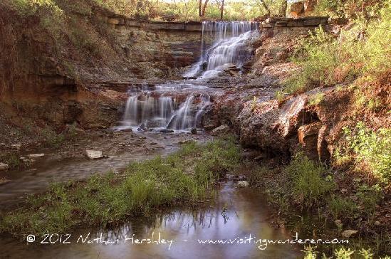2. Chase Lake Falls (Cottonwood Falls)