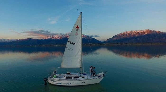 1. Bonneville School of Sailing, Utah Lake