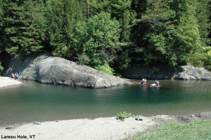 12.  Lareau Swimming Hole,  Waitsfield