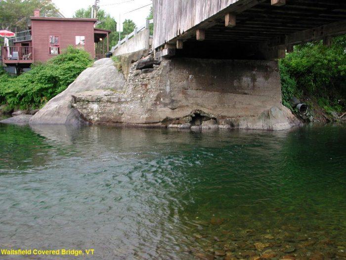 15.  Waitsfield Covered Bridge, Waitsfield