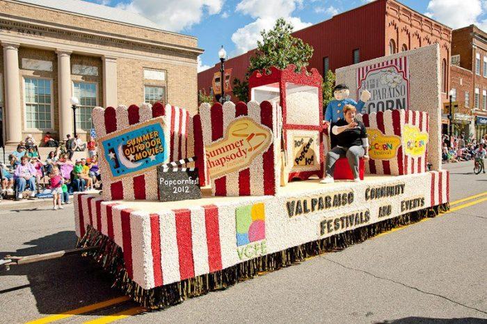 17. Enjoy the Valparaiso Popcorn Festival