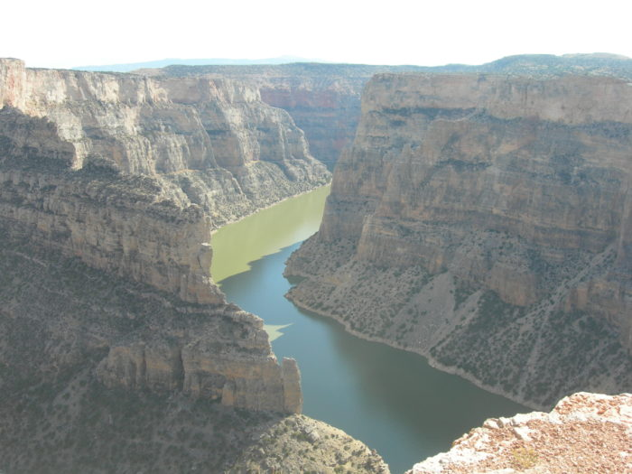 8. Devil's Overlook at Bighorn Canyon National Recreation Area.