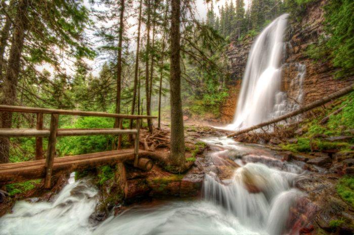 7. Virginia Falls in Glacier National Park.