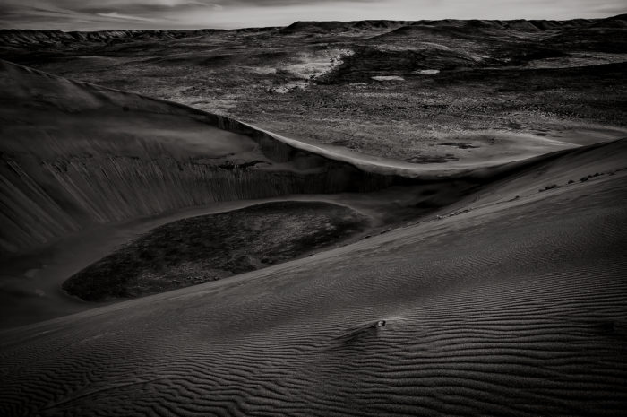 11. A vortex at Bruneau's sand dunes is captured in all of its dangerous beauty.