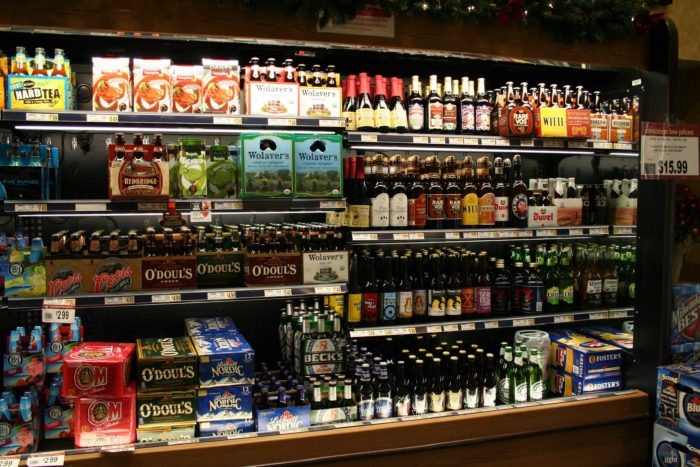11. The craft beers and beverage centers can quench any thirst.