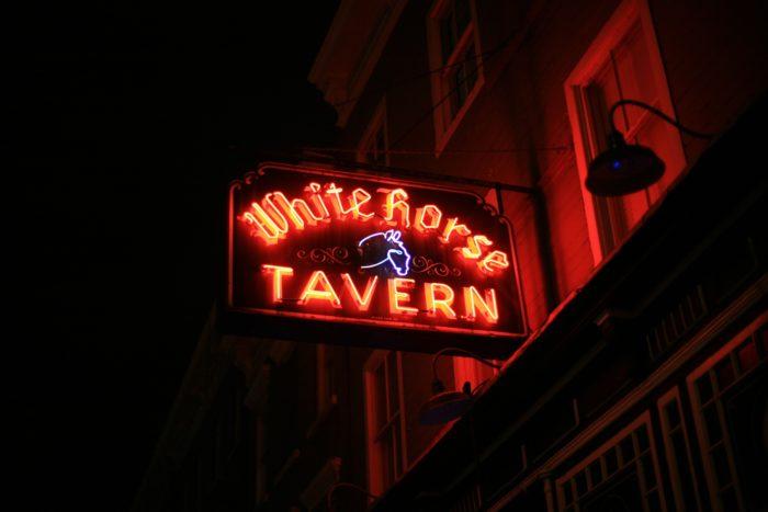 4. Dylan Thomas, White Horse Tavern