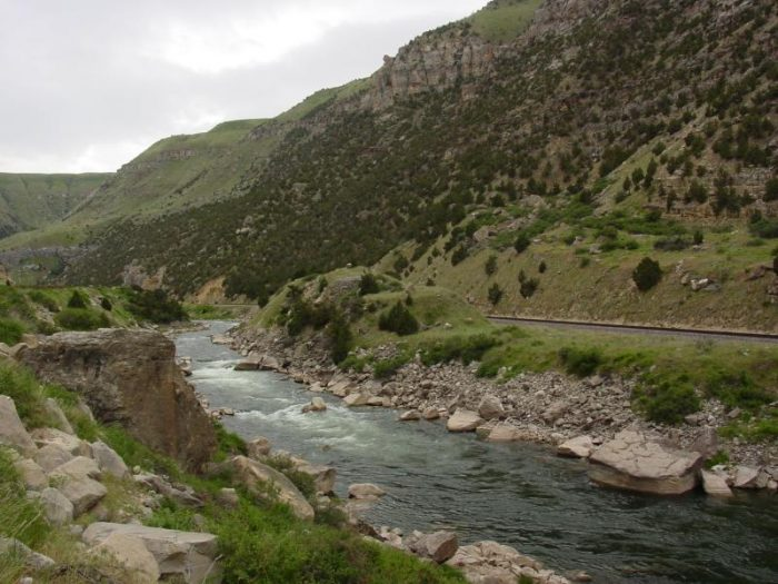 2. Wind River Canyon Scenic Byway