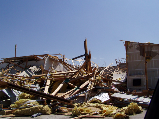 One of the more recent Colorado tornadoes was also one that broke records; the EF3 tornado that struck the town of Windsor in 2008 at one point spanned a terrifying 1,760 yards.