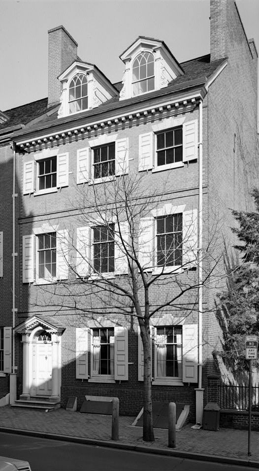 4. The Bishop White House, where the first bishop of Philadelphia lived.