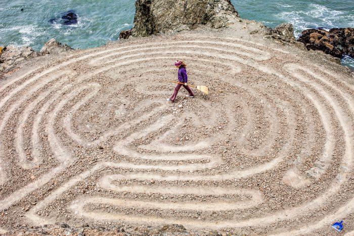 13. Lands End Labyrinth