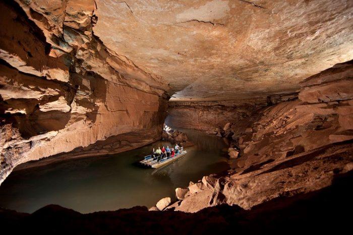 2. World's deepest and shortest underground river