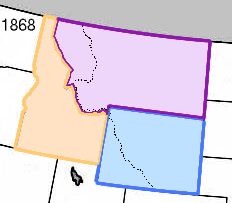 1. President Ulysses S. Grant designated Yellowstone as a national park in 1872 which is 20 years before Wyoming, Idaho, and Montana became states.