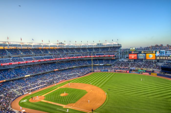 5. Splurge on a hot dog and spend the day in the sun at Yankee Stadium.