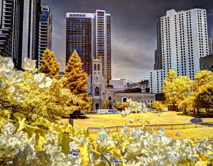 "4. San Francisco was originally called Yerba Buena (Spanish for ""Good Herb""). It was part of Mexico until the Mexican-American War in 1848. Pictured is Yerba Buena Gardens."