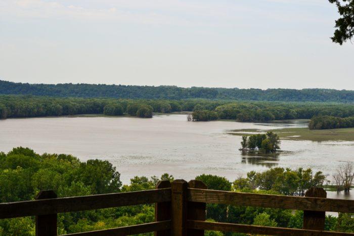 2. Mississippi Palisades State Park