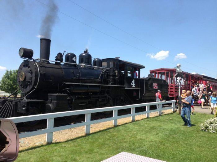 5. Lumberjack Steam Train and Camp 5 Museum