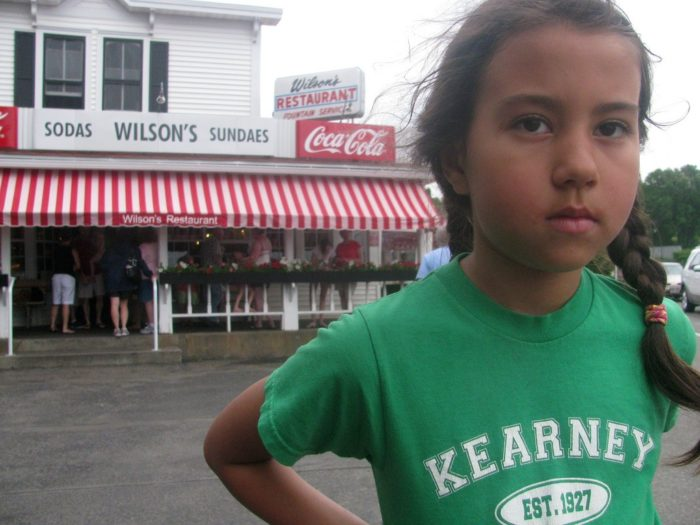 4. Don't forget to stop at Wilson's and eat some great ice cream.