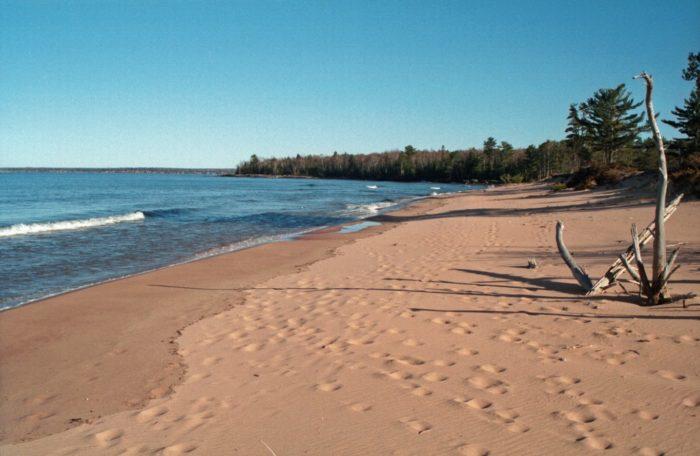1. Visit Julian Beach, where the sand howls.