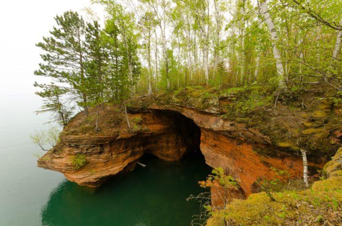 4. Seriously, you can kayak through a sea cave.