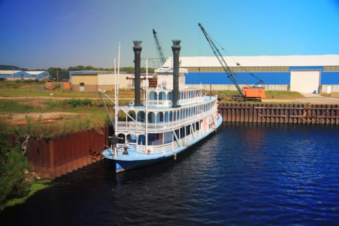 1. You will enjoy hanging out by the river, and occasionally see a steamboat.