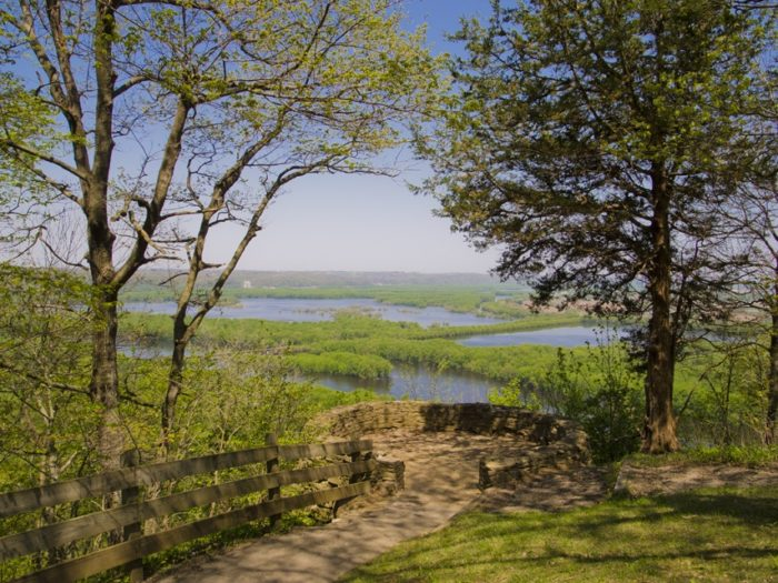 4. A visit to Wyalusing is worthwhile to see gorgeous Wyalusing State Park.