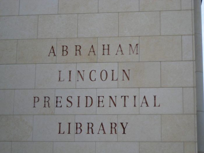 2. Check out one of the coolest libraries around: The Abraham Lincoln Presidential Library.