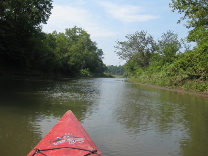 4. You can kayak down the Mississippi River.