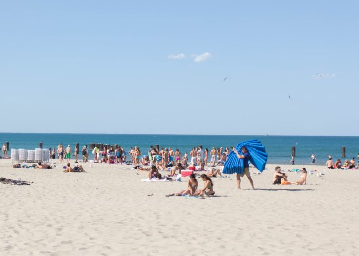 5. Relax on some of the best beaches in Illinois.