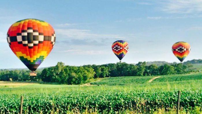 11. Hot Air Balloon Ride
