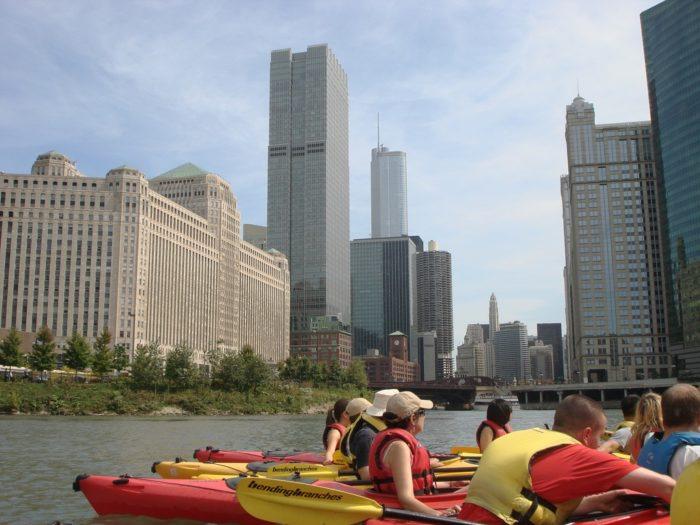 15. Urban Kayaking